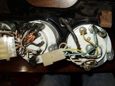 приборы от ВАЗ 2106