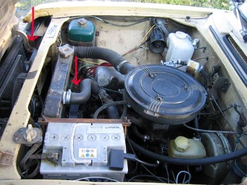 Как ни странно двигатель не