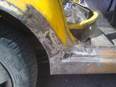 Кузовной ремонт сварка автомобиля своими руками
